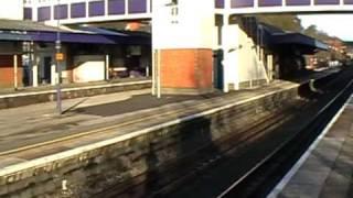 Trains at speed!! UK