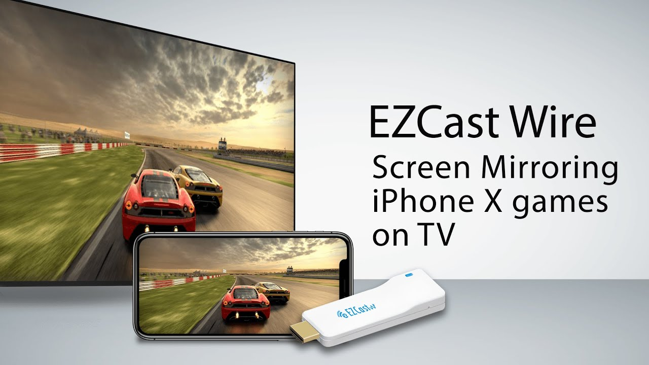 How to plug and play screen mirroring your smart phones - EZCast