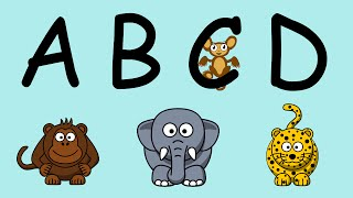 ABC Song | Alphabet Song for Children (With Cute Animals)