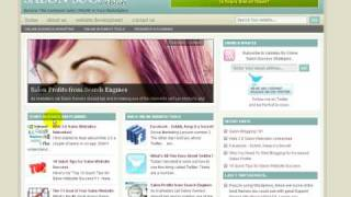 Salon Website Online Marketing