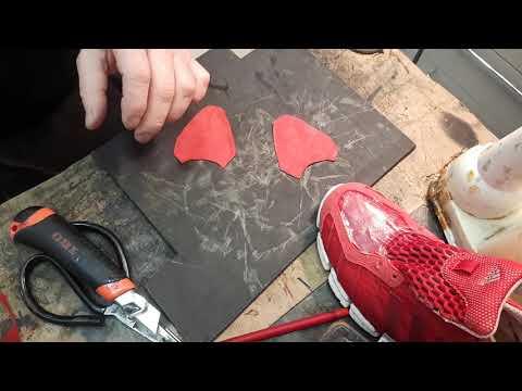 Ремонт обуви.Дырки,кросовки, нате вам кросовки
