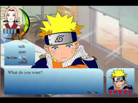 Naruto sim dating games