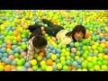 indoor playground Giant Ball Pits ぐりんぱ キッズフジQ ボールプール ふわふわト…
