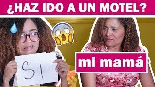 YO NUNCA NUNCA con mi MAMA PARTE 2 - preguntas INCOMODAS