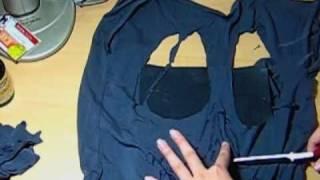 One of Letitia Kiu's most viewed videos: ✂ DIY Skull Cut Out Tee