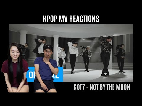 GOT7 - NOT BY THE MOON MV REACTION [JB'S HAIR IS A VIBE!!]