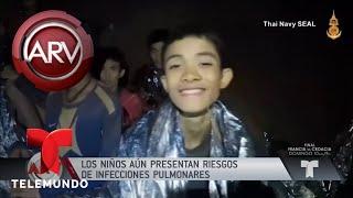 Detalles inéditos del rescate en la cueva de Tailandia | Al Rojo Vivo | Telemundo