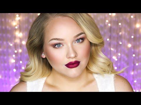 Soft Glam Holiday Makeup Tutorial Nikkietutorials Youtube