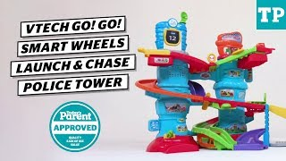 VTech Go! Go! Smart Wheels Launch and Chase Police Tower Review | Today's Parent Approved