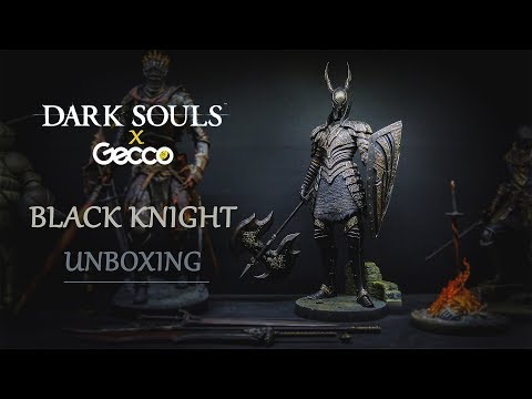 Dark Souls Black Knight (kurokishi) Statue By Gecco Unboxing & Review