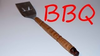 Wood Turning Bbq Spatula