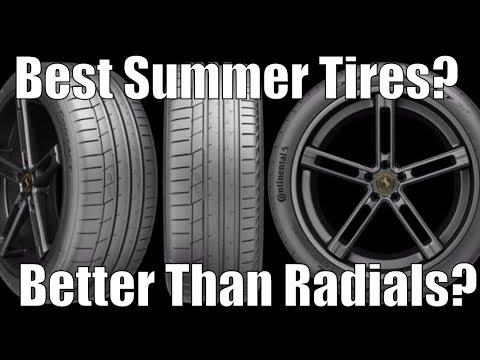 Best Summer Tires? Continental!