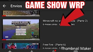 Ruan Pablo - REACT DO CANAL GAME SHOW WRP