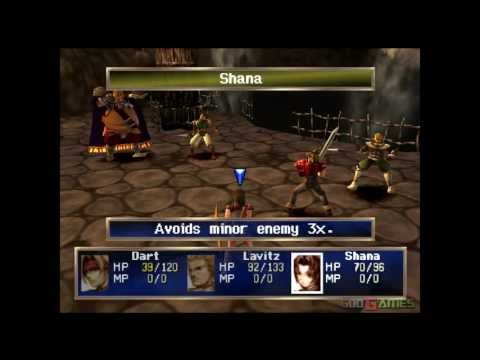 The Legend of Dragoon - Gameplay PSX (PS One) HD 720P (Playstation classics)