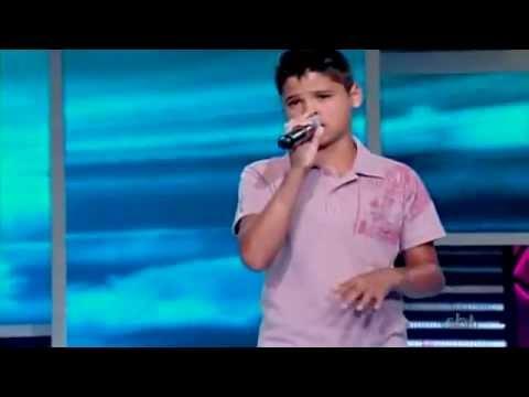Isac Santos - Nada Pode Calar um Adorador Raul Gil - Jovens Talentos 21/07/12
