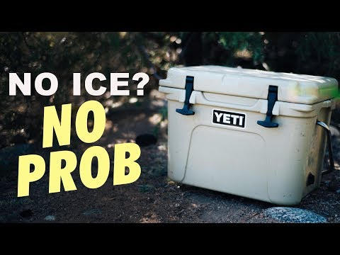 How to Keep a Cooler COLD with NO ICE | Scamp 13ft Trailer