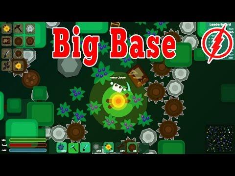 Starve.io - BIGGEST BASE ( Farm) Building