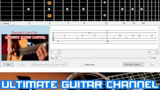 [Guitar Solo Tab] Because I Love You (Shakin' Stevens)
