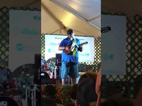 Willie K at Kauai County Farm Fair