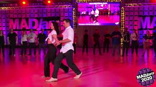 MADjam 2020 Champions Strictly Swing Glenn Ball & Susan Kirklin