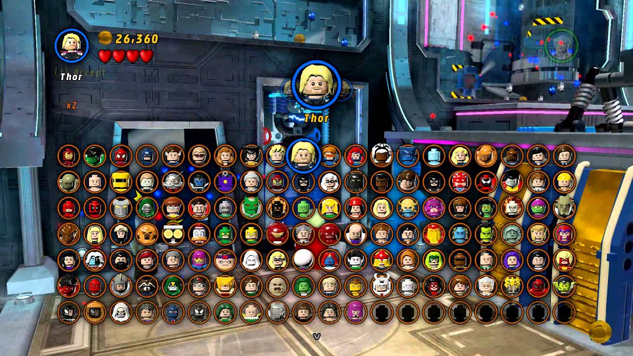 marvel lego magnetic characters
