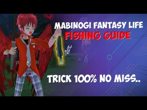 Mabinogi Fantasy Life Fishing Guide