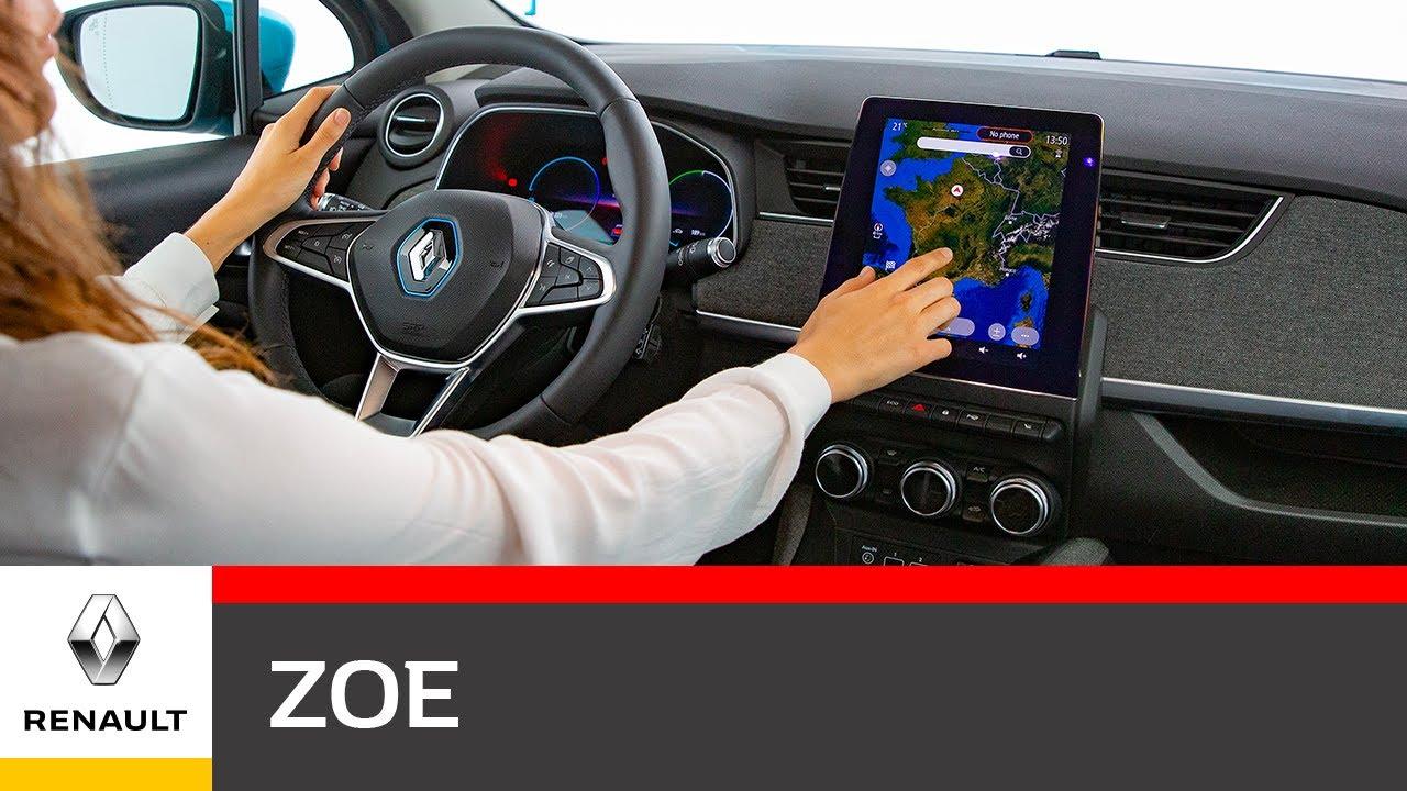 Intérieur de Renault ZOE 2 2020 | Vidéo en français