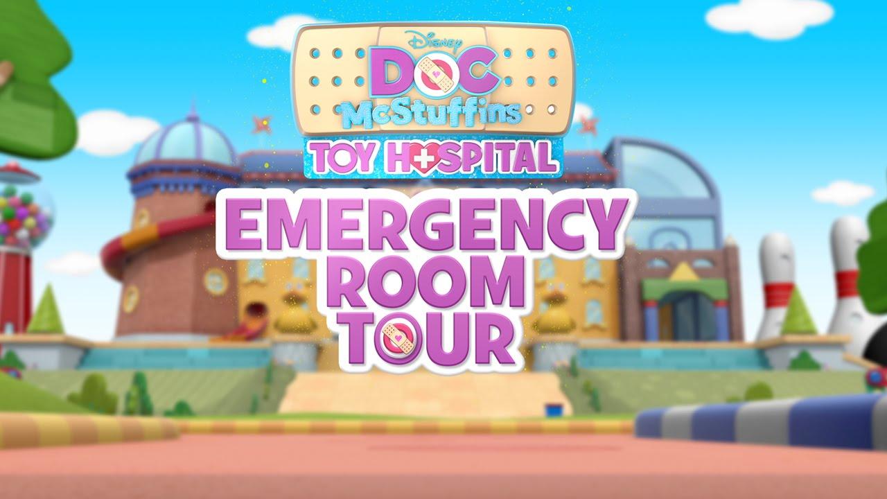 Doc Mcstuffins Toy Hospital Tour