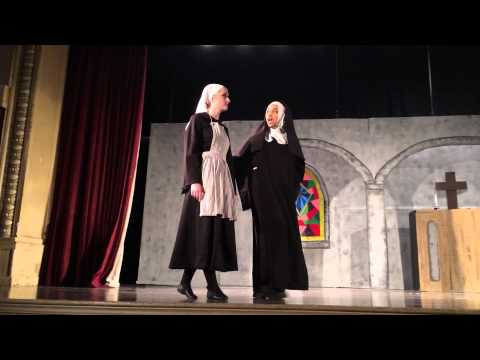 """The Sound of Music""  Mother Abbess (aka Mother Superior) ""Climb Every Mountain"""