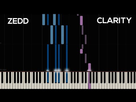 Zedd - Clarity ft. Foxes (Piano Cover) | Synthesia