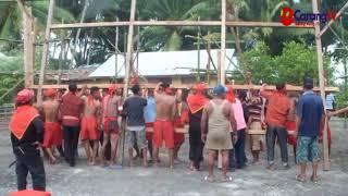 Penancapan Tiang Induk Baileo Pasune Waralatu Negeri Tananahu