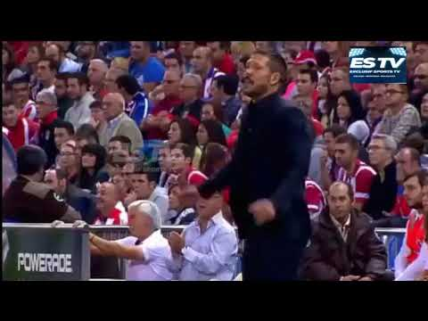 "DIEGO SIMEONE ""EL CHOLO "" BEST MOMENT"