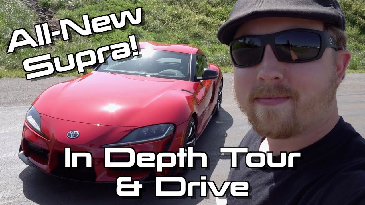 470cbc1dde 2020 Toyota GR Supra: Start Up, Test Drive & In Depth Tour - YouTube