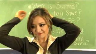 sexy teacher ever - hot hot-  Myanmar Burma It Can_t Wait