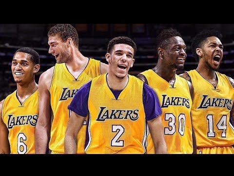 LAKERS 2017-2018 HYPE VIDEO!