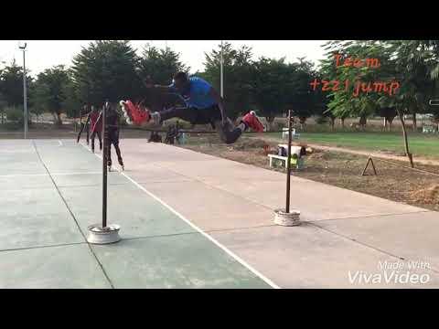 Roller free jump Dakar (Sénégal)