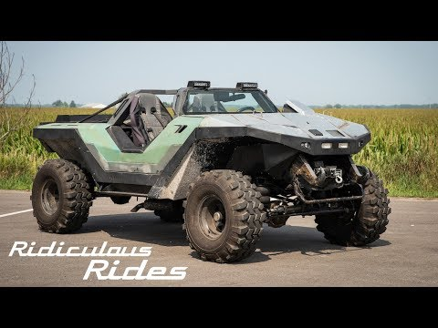 Halo Fan Builds A Real Life Warthog | RIDICULOUS RIDES