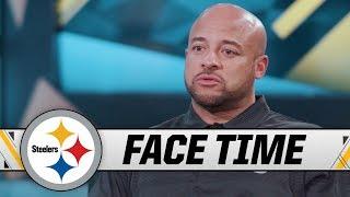Steelers RB Coach Eddie Faulkner on His Journey to NFL, Jaylen Samuels   Face Time