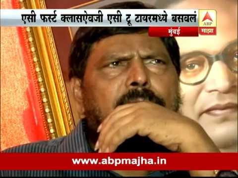 Mumbai : Ramdas Athawale Reacting On Sangli Train Incident