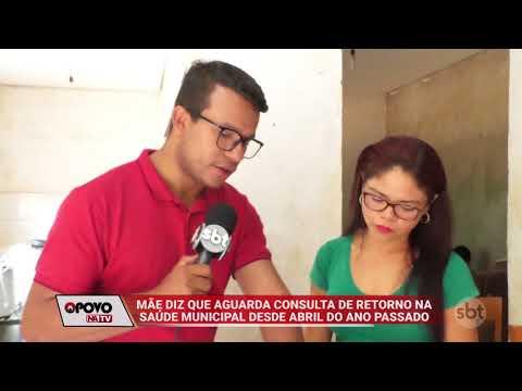 O Povo na TV: Mãe aguarda retorno em consulta na rede municipal há uma ano