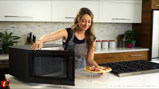 toshiba convection microwave oven with convection function and smart sensor