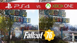 Fallout 76 Comparison - Xbox One vs. Xbox One S vs. Xbox One X vs. PS4 vs. PS4 Pro