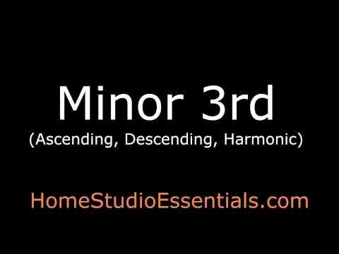 Interval Ear Training: Minor 3rd (Ascending/Descending/Harmonic)