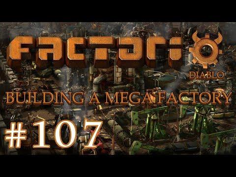 Factorio - Building a Mega Factory: Part 107 Looking for Iron