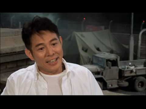 Interview with Jet Li for The Expendables