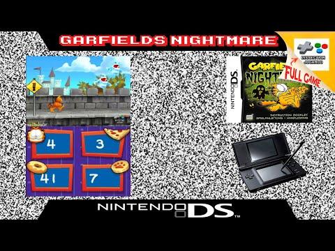 Garfield S Nightmare Nintendo Ds Longplay Youtube