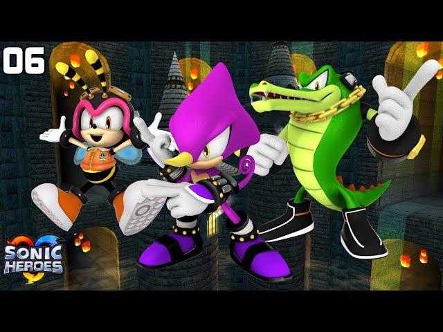 Sonic Heroes (GC) [4K] - Team Chaotix (6/7)