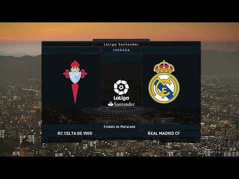 Celta Vigo vs Real Madrid   La Liga 11 November 2018 Gameplay thumbnail