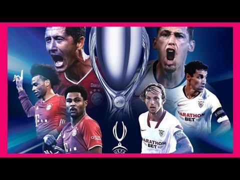 🏆Bayern de Múnich Campeón de la Supercopa de Europa 2020   Bayern de Múnich vs Sevilla 2-1