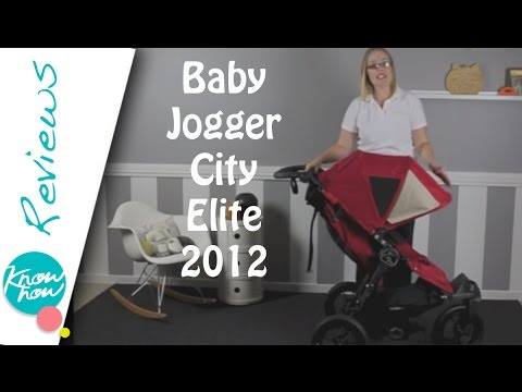 Baby Jogger City Elite 2012 Stroller Review - YouTube